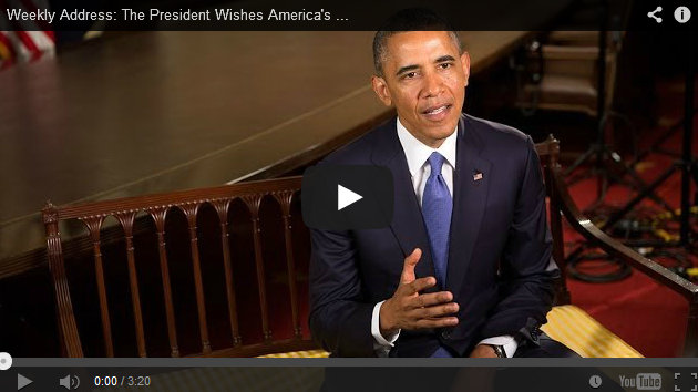 Weekly Address: The President Wishes America's Dads a Happy Father's Day