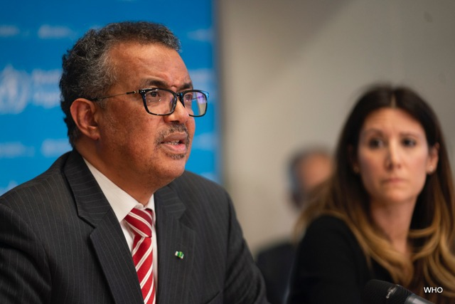 WHO Director General's Remarks Declaring Covid-19 Outbreak as a Pandemic