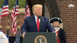 President Trump at a Memorial Day Ceremony at Fort McHenry
