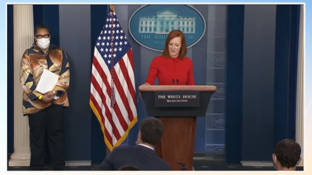 "Psaki Slips & Refers to Migrant Surge as  ""Border Crisis"" in Briefing with HUD Secretary Marcia L. Fudge"
